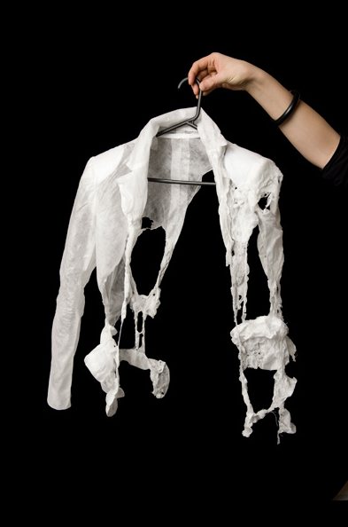 Dissolving jacket Pia Interlandi