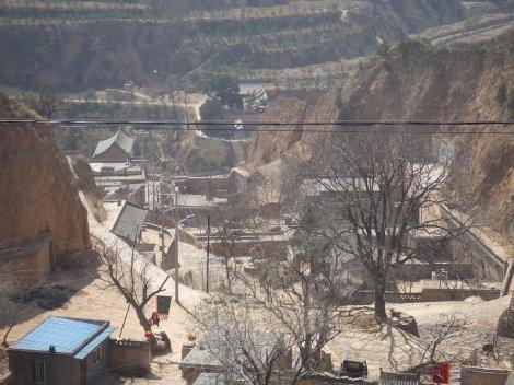 Shanxi underground town; Source: Panoramio